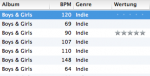 Analyse BPMs of iTunes songs